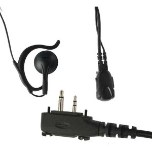 ta-719x, earpiece speaker, radio headset, radio earpiece, maxon earpiece