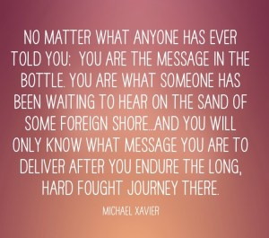 Michael Xavier The Message