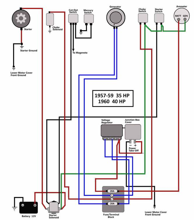 7 terminal ignition switch wiring diagram 7 image omc push to choke ignition switch wiring diagram wiring diagrams on 7 terminal ignition switch wiring