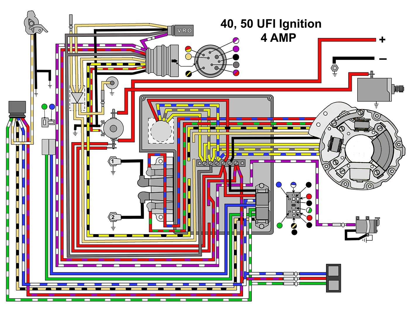 EVINRUDE JOHNSON Outboard Wiring Diagrams -- MASTERTECH