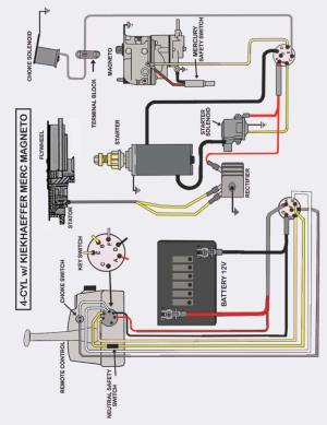 Mercury 90 Wiring Diagram  Circuit Connection Diagram