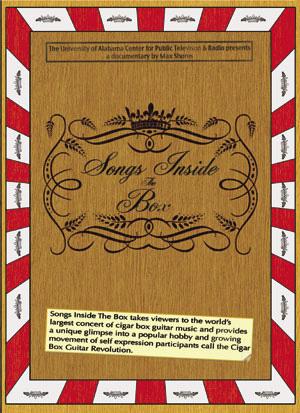 """Songs Inside The Box"" DVD Cover"