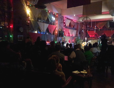 Garrison Starr at the Red Cat Coffee House