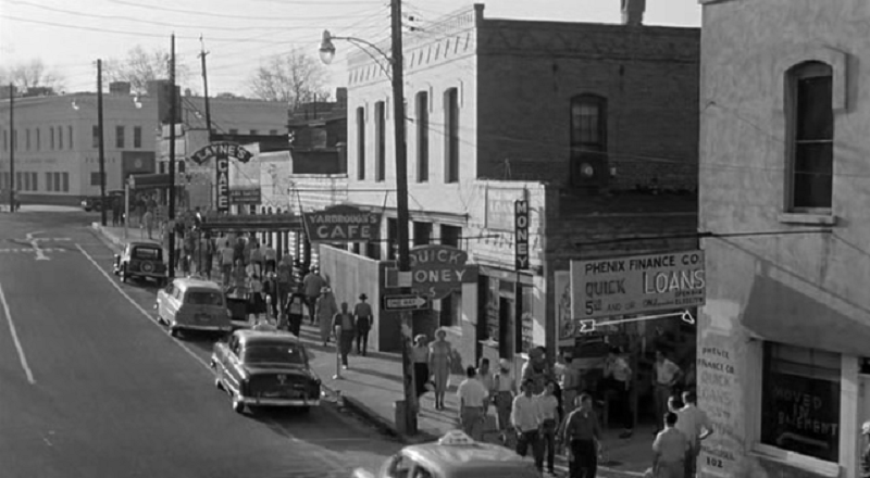 Phenix City, Alabama in the 1950s