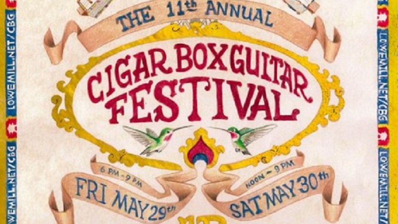 2015 Alabama Cigar Box Guitar Festival