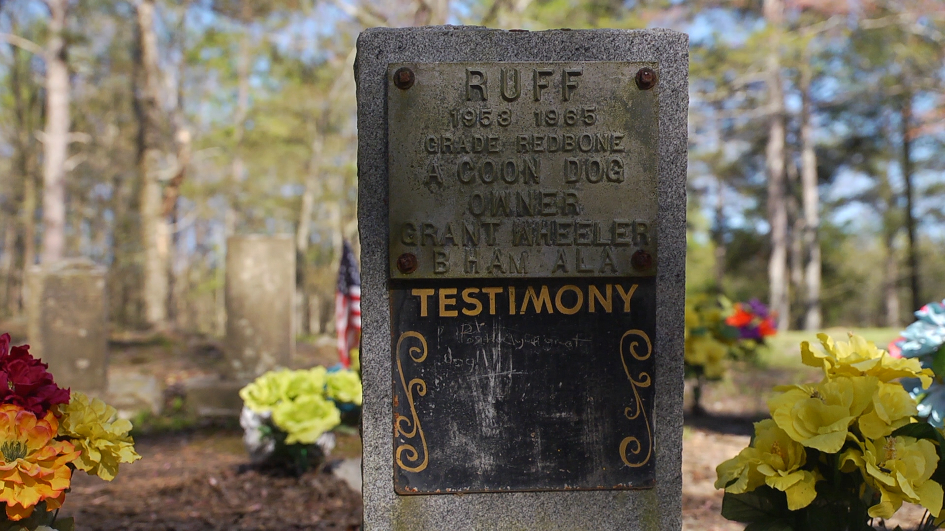 Coon Dog Cemetery in north Alabama