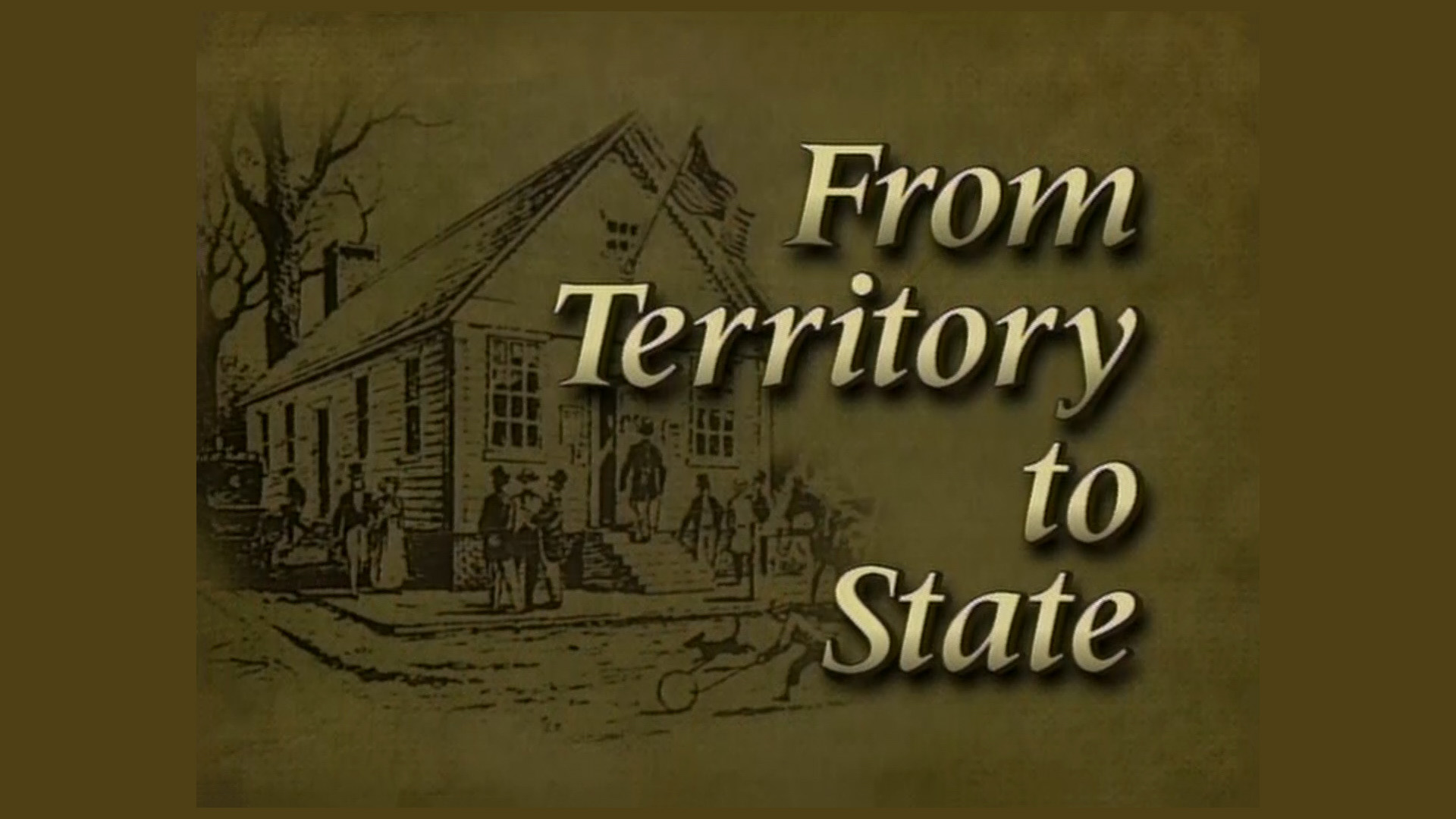 From Territory to State – Alabama