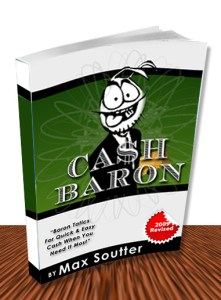 Cash Baron Secrets by Max Soutter