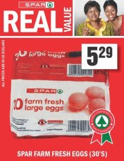 spar real value farm eggs
