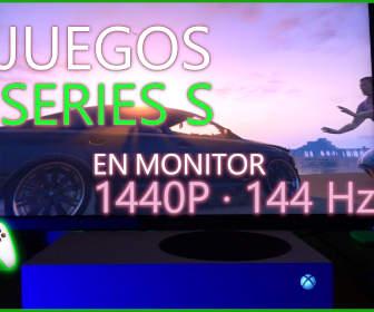 Juegos Xbox Series S 1440 144 hz