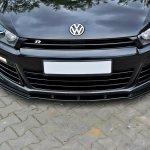 Front Splitter Vw Scirocco R Gloss Black Our Offer Volkswagen Scirocco R Mk3 Maxton Design