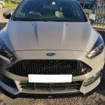 Front Splitter V 3 Ford Focus St Mk3 Fl Textured Our Offer Ford Focus St Mk3 Fl 2015 2018 Maxton Design