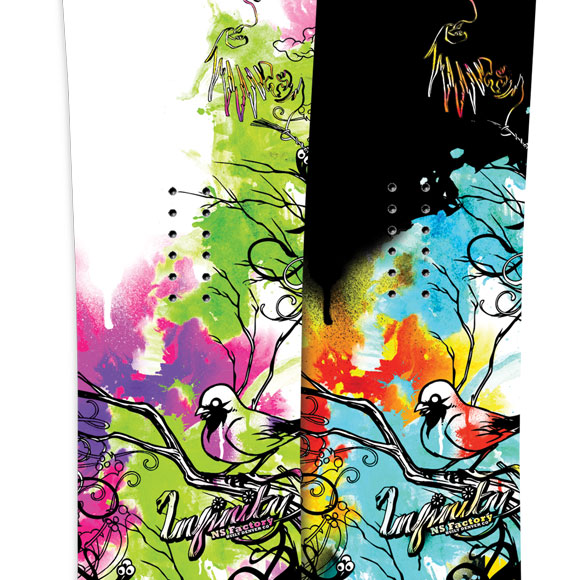 09/10 Never Summer Snowboards now online!