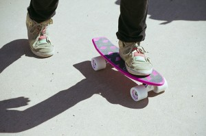 Atom Retroh 70s style plastic skateboards available
