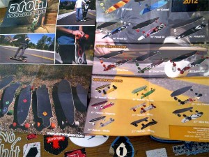 2012 Atom Longboard Brochures Now Available