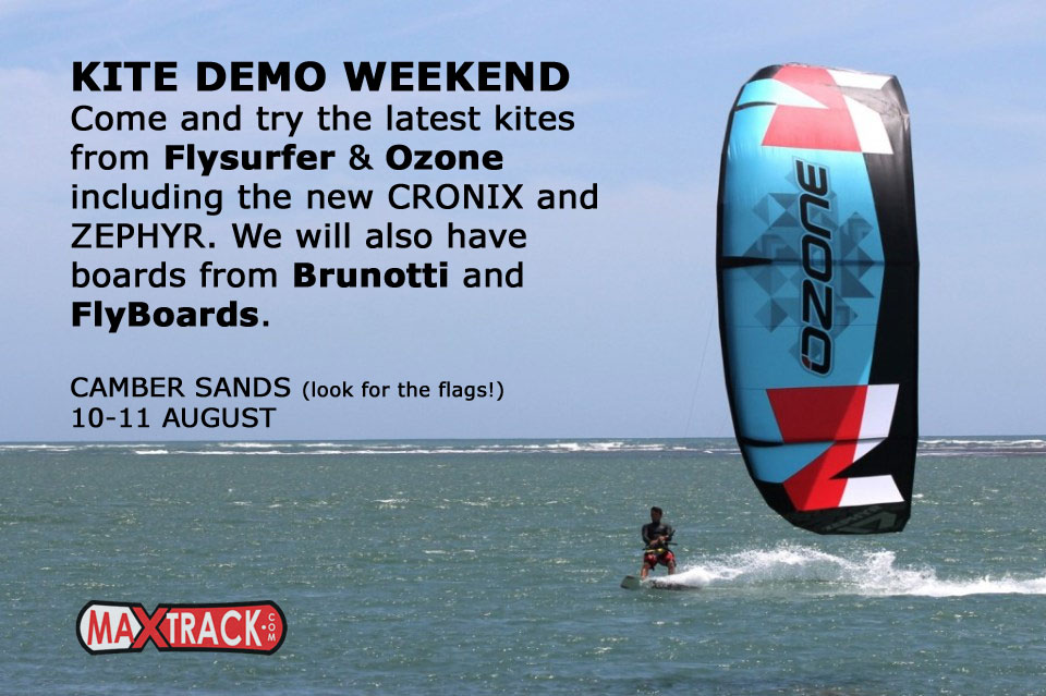Camber Sands Kite Demo Weekend!