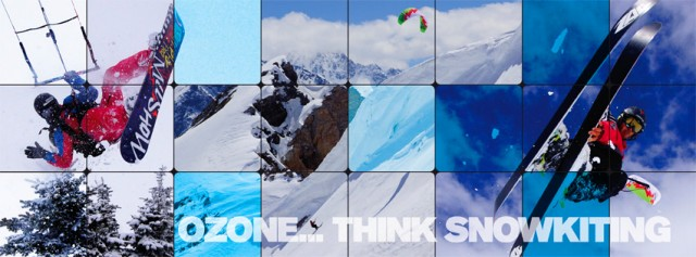 Ozone Launch 2014 Snow Kite Range
