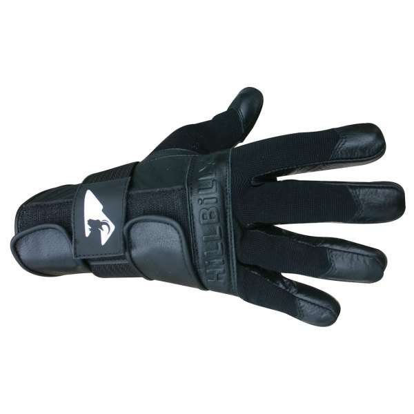 Hillbilly Wrist Guard Glove Full Finger Black