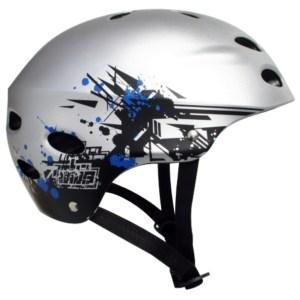 2721Y MBS Helmet Grafstract - Silver2