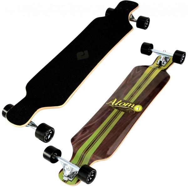 40009 Atom 39 Inch Drop-Deck Longboard - Artisan Brown