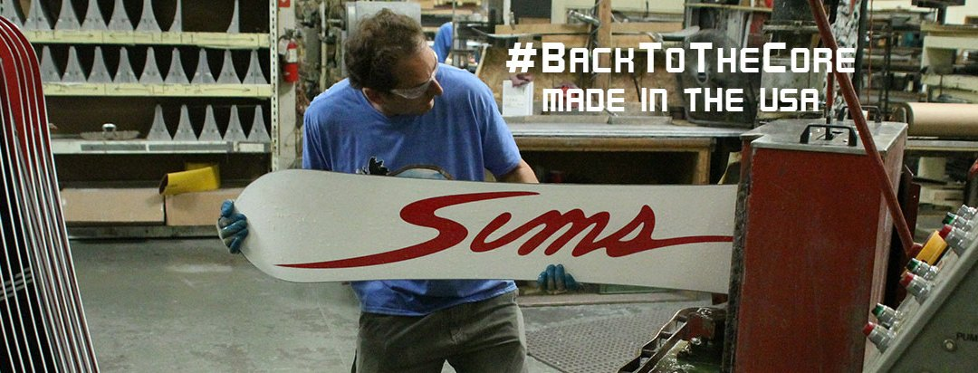 SIMS Snowboards – Back To The Core
