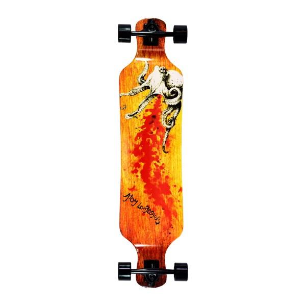 40022 - Atom Drop Deck Longboard - 39 Inch (Octopus)