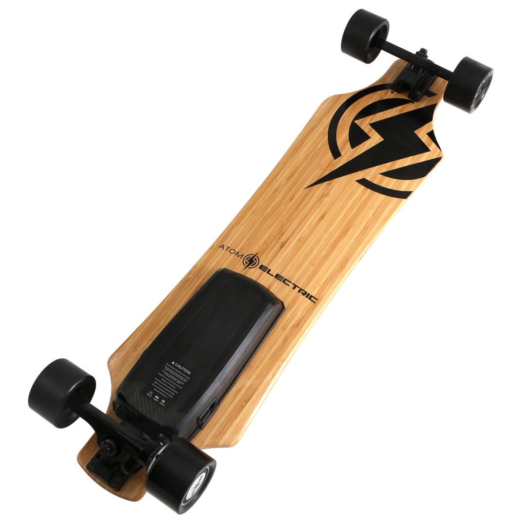 40403 - Atom Electric H10 Longboard Skateboard - 104Wh Lithium Battery - 700W Hub