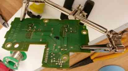 Reparation af CDJ 2000 nx