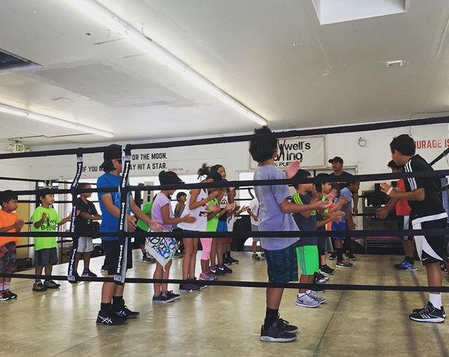 Youth Summer Camp 2017 is officially kicking off!🏼..#maxwellsboxing #youthsummercamp2017 #boxing #youthboxing #healthykids #happykids #respect #hardwork #grit #discipline #teachthemwell #nobullies #miramar #sandiego #poway #miramesa #lajolla #delmar @sherm06 @canzcruz @frankiewest @philcalica @mymy_jxs @michellepampo @ernie_pampo
