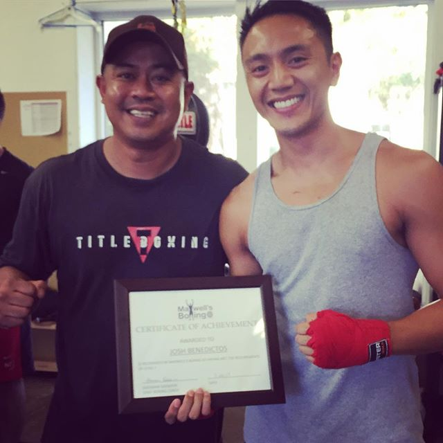 We love to see our students grow and progress. As one of our hard working students, we're happy to congratulate Josh on passing his 1st Level Up Exam! Keep up the good work!! 🏼 ..#maxwellsboxing #boxing #levelupprogram #sweetscience #grow #progress #encourage #achieve #alwaysimproving #sandiegoboxing #usaboxing #miramar #miramesa #poway #scrippsranch #lajolla #delmar #torreypines #clairemontmesa @sherm06
