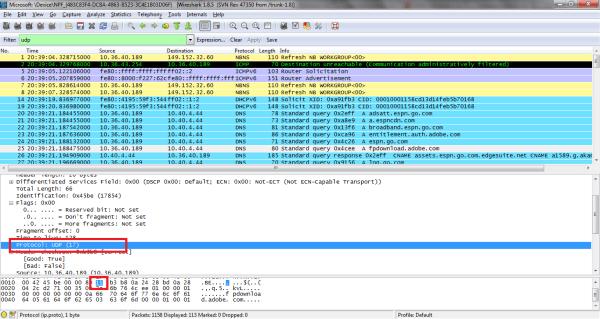 Wireshark Lab 5: Exploring UDP | Maxwell Sullivan ...