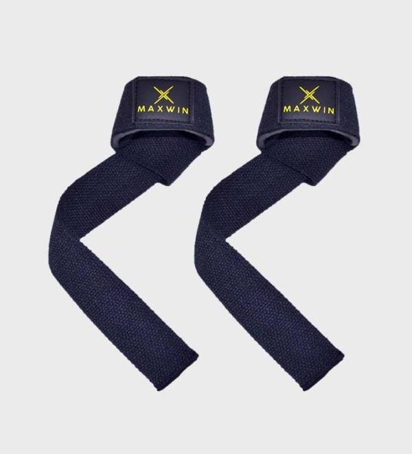 weightlifting straps black
