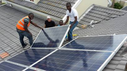 Domestic PV system by Treetops in Cape Town
