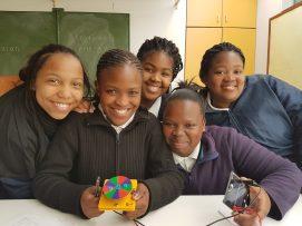 kids with solar energy