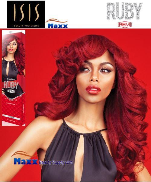 ISIS Ruby Brazilian Remi Yaky Weaving Hair 10P20221