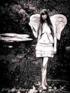 Angel In The Garden