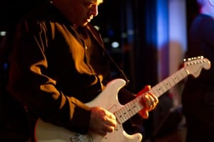 Bruno Gerace and his Fender Stratocaster - Sydney Band - The Maxys Party Band