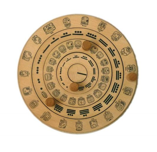 Wooden Mayan Calendar