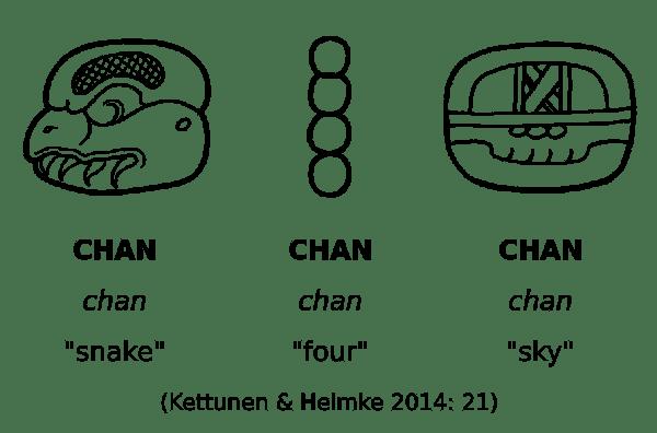 Maya-hieroglyphic-script-snake-four-sky