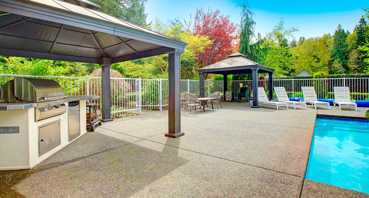 concrete patio ideas 5 ways to improve