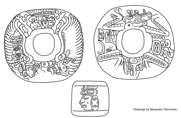Figure 3. Drawing of set by Alexandre Tokovinine.
