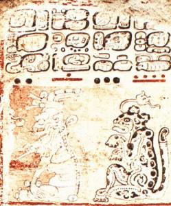 Figure 3. Summons of gods (Dresden 8a).