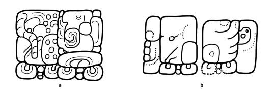 ak'biiy glyphs