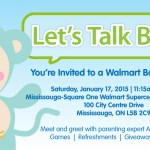 You're invited to Walmart's Baby Shower Party!