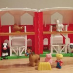 What does the cow say? Fisher Price Giveaway.