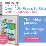 Want to personalize your fridge door? You can with Frigidaire Custom-Flex Refrigerator – Giveaway!
