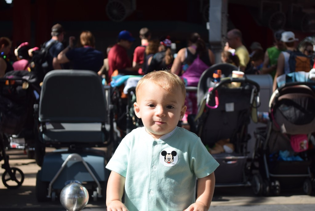 one year old at disney world