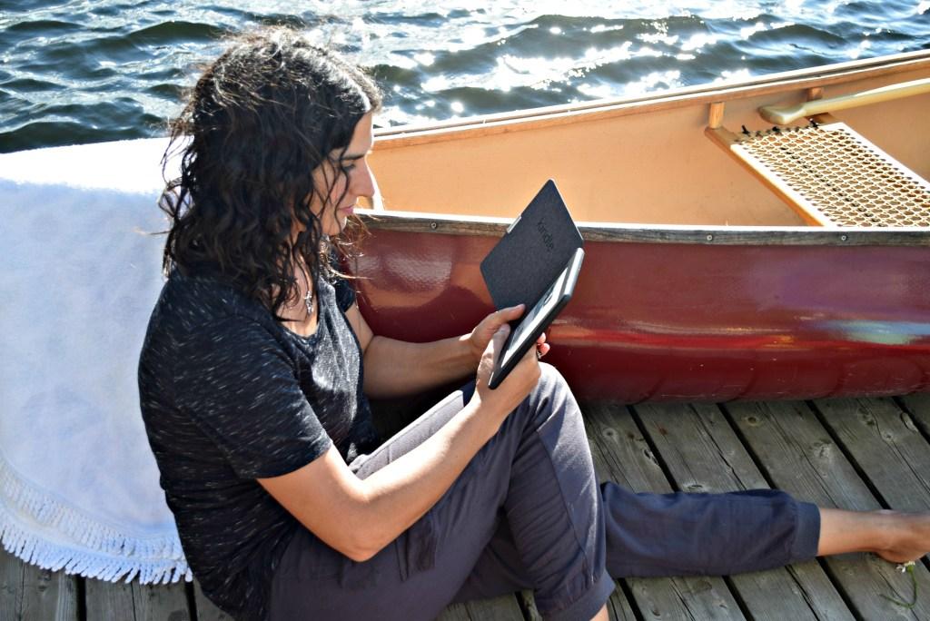Kindle by canoe