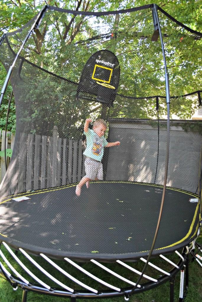 Springfree Nate jumping