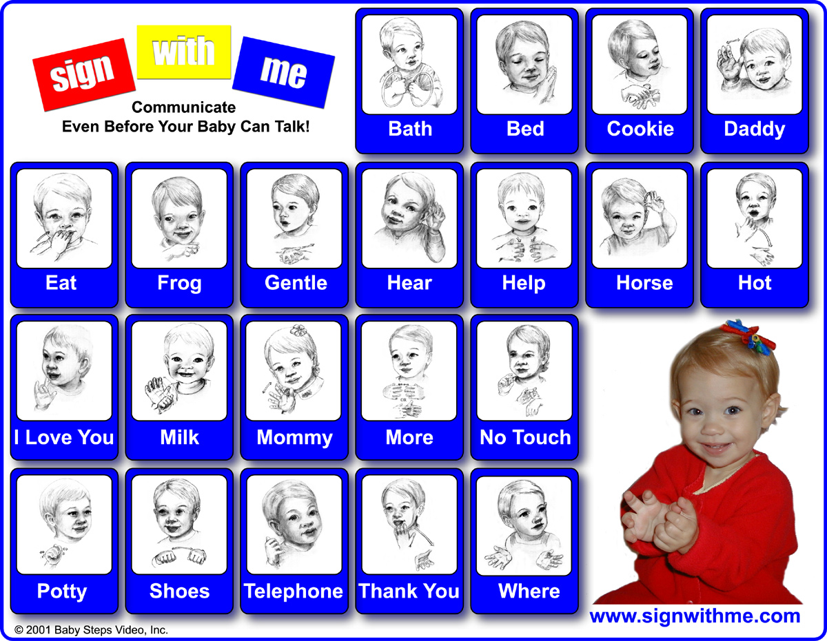 Happy Mommy Adventures Teaching Your Baby Sign Language